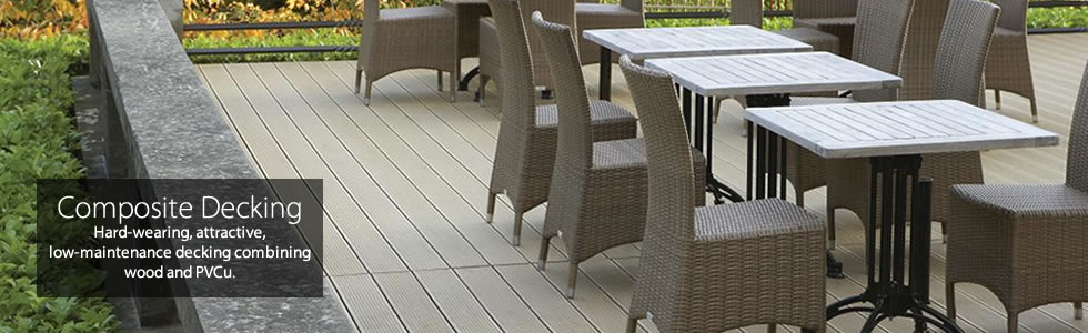 Composite Decking and Cladding